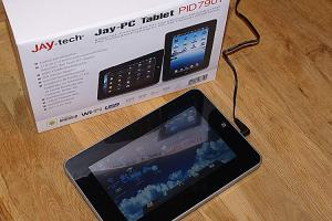Jay-tech Tablet PC PID 7901 (Foto: Riewenherm)