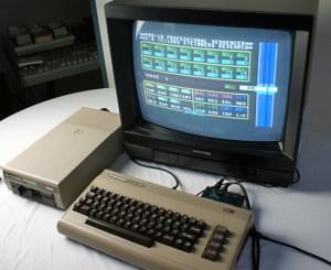 Steinbergs Sequenzer pro16 auf dem Commodore 64 (Foto: Riewenherm)