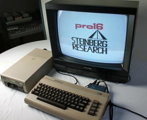 Der Startbildschirm des pro16 von Steinberg (Foto: Riewenherm)