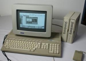 Cubase 3.0 auf dem Atari ST (Foto: Riewenherm)