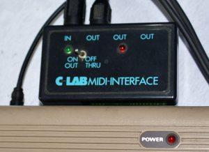 Das C-Lab Midi-Interface für den C-64 (Foto: Riewenherm)