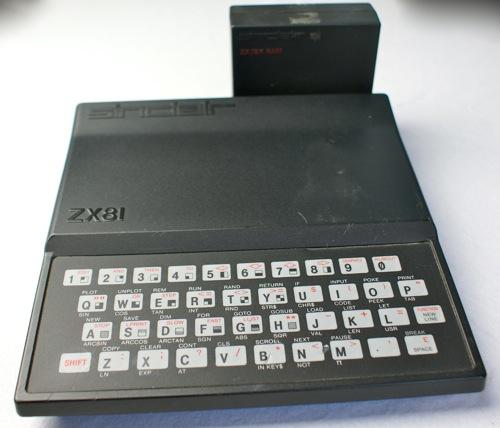 Sinclair ZX81 mit 16KB Speichererweiterung (Foto: Riewenherm)