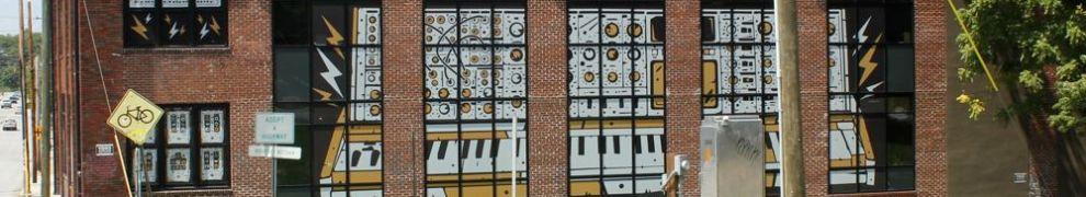 Firmensitz und Fabrik von Moog Music in Asheville, NC