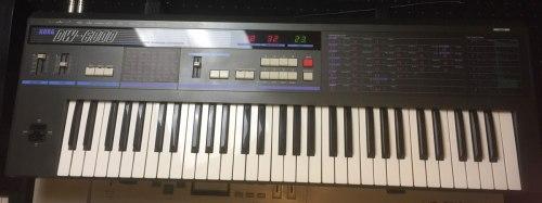 1984 wurde es digital: Korg bringt den DW-6000 mit digitalen Wellenformen - Foto: Riewenherm